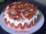 Narozeninový dort s krémem z bílé čokolády recept