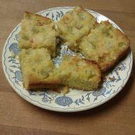 Bezlepkový rebarborový koláč recept