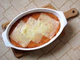 Zapečená polenta s tuňákem a rajčaty recept
