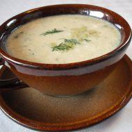 Celerová polévka s koprem recept
