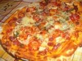 Pizza ze sušeného droždí recept