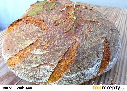 Chleba malovaný bylinkami recept