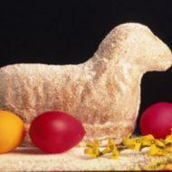 Velikonoční piškotový beránek recept