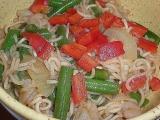 Mie Goreng udang (Fried Noodles with shrimps) (Smažené nudle s ...
