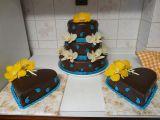 Moje první svatební dorty recept