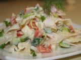 Mlýnský těstovinový salát recept