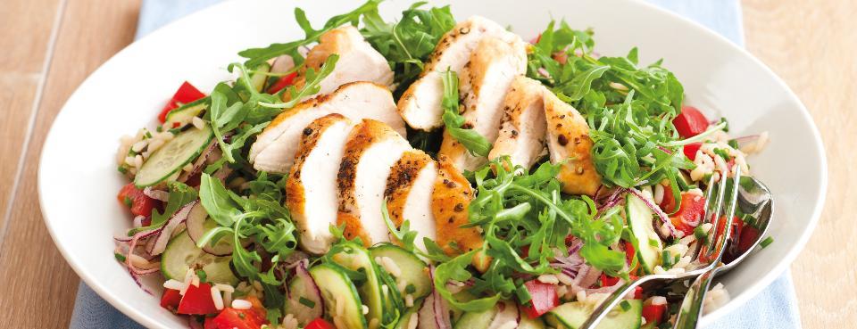 Studený rýžový salát