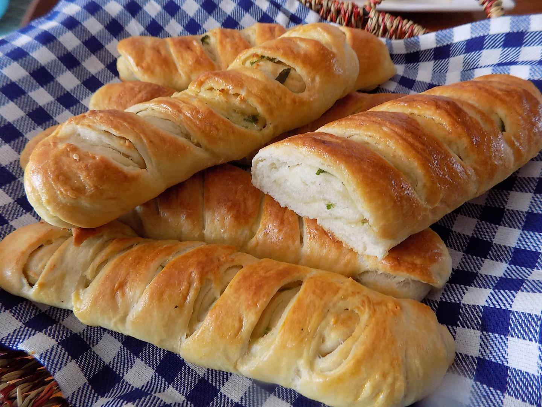 Česnekové bagety recept