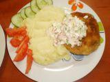 Luštěninové karbanátky s jarní remuládou a bramborovou kaší ...