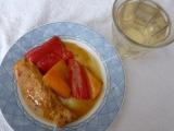 Králičí filetky ve vinné marinádě s paprikovou přílohou recept ...