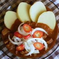 Hospodský vepřový guláš recept