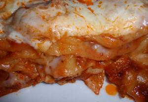 Lasagne s mletým masem