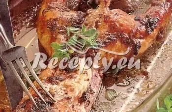 Králík na bylinkách recept  králičí maso