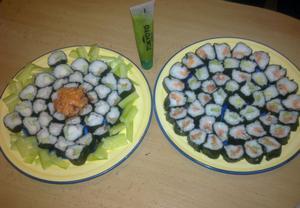 Domácí sushi