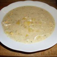 Hustá květáková polévka s vejci a brambory recept