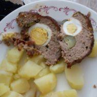 Okatá sekaná s vejcem recept