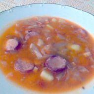 Polévka z kysaného zelí recept