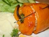 Plněné pečené papričky recept