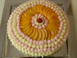 Čokoládový dort se smetanou a ovocem recept