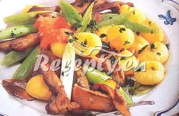 Pečená hlíva s paprikovou omáčkou recept  houbové pokrmy ...