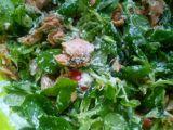 Letní salát s lososem a ricottou recept