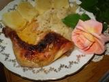 Pečená kuřecí stehna na zázvoru recept