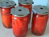 Nakládaná paprika v oleji recept