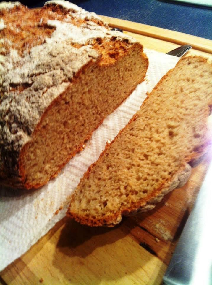 Chléb podle mé sousedky, nehnětený a bez kvasnic recept ...