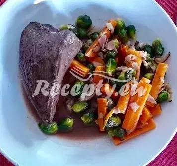 Hovězí steak s dušenou zeleninou recept  fitness recepty  Recepty ...
