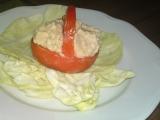 Košíček z rajčete s krémem z nivy recept