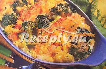 Zapékané těstoviny s lososem recept  těstoviny