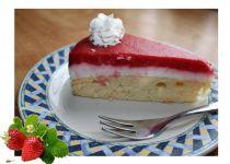 Polentový dort s tvarohem a pomerančovým želé recept ...