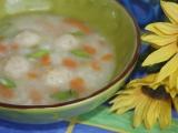 Květáková polévka s knedlíčky recept