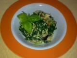 Jáhlové risotto s hříbky a hermelínem recept