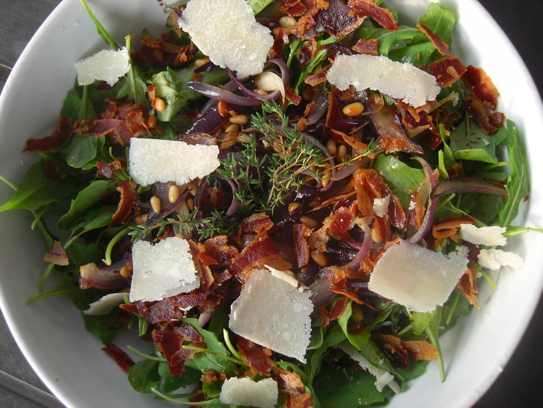 Salát z rukoly recept