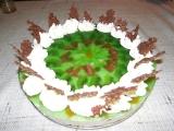 Ovocno-tvarohový dort recept