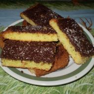 Cuketová buchta s čokoládou recept