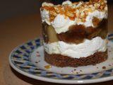 Jablečné tiramisu s ořechovým krokantem recept