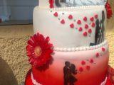 Svatební červeno-bílý recept
