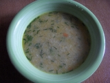 Polévka s krupicí a vejcem recept