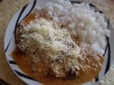 Vepřové kousky s česnekovými výhonky recept