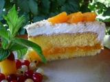 Mandarinkovo-šlehačkový dortík recept