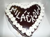 Pravý pařížský dort s krájecí polevou recept