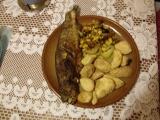 Pstruh na zelenině recept
