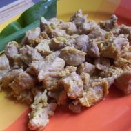 Marinované vepřové kostky recept