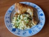 Zlaté kuře s bulgurem recept
