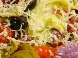 Teplý ledový salát od Moniky recept