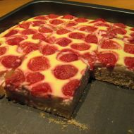 Jahodový koláč s tvarohovým krémem recept