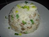 Houbové rizoto s pórkem (po česku) recept
