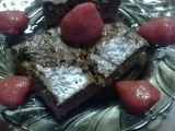Mramorové čokoládové kostky recept